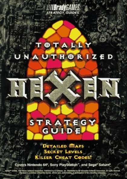 Books About Video Games - HEXEN--TOTALLY UNAUTHORIZED (Brady Games Strategy Guides)