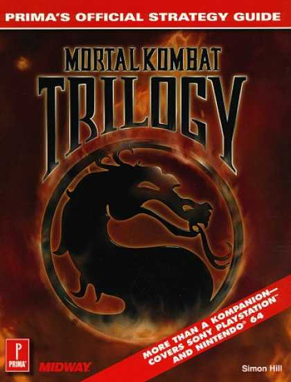 Books About Video Games - Mortal Kombat Trilogy Official Game Secrets (Secrets of the Games Series.)