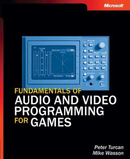 Books About Video Games - Fundamentals of Audio and Video Programming for Games (Pro-Developer)