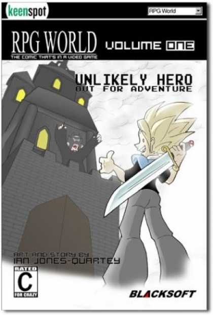 Books About Video Games - Rpg World Unlikely Hero Out for Adventure: The Comic That's in a Video Game (Rpg