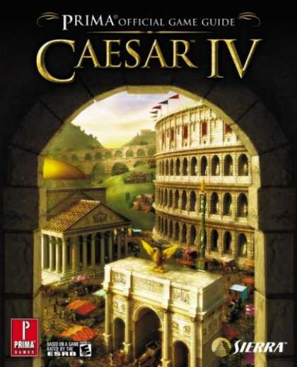 Books About Video Games - Caesar IV (Prima Official Game Guide)