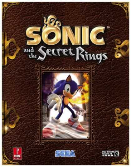 Books About Video Games - Sonic and the Secret Rings (Prima Official Game Guide)