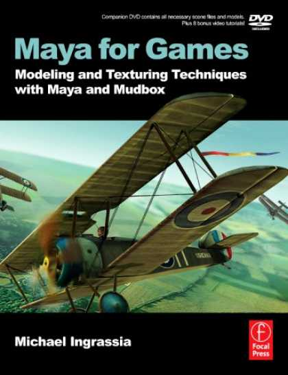 Books About Video Games - Maya for Games: Modeling and Texturing Techniques with Maya and Mudbox