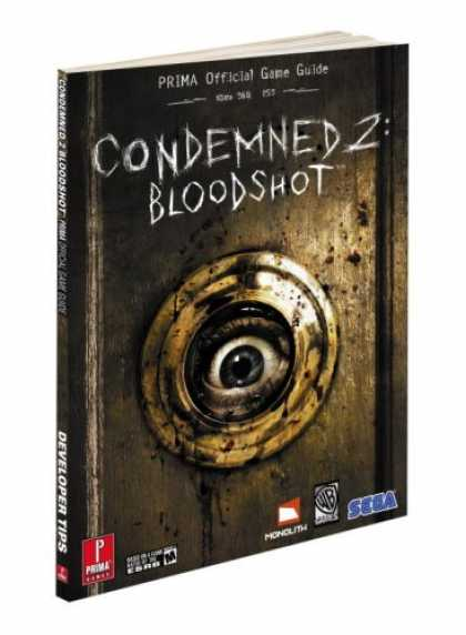Books About Video Games - Condemned 2: Bloodshot: Prima Official Game Guide (Prima Official Game Guides)