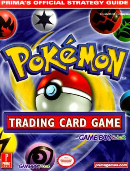Books About Video Games - Pokemon Trading Card Game (Game Boy Version) (Prima's Official Strategy Guide)