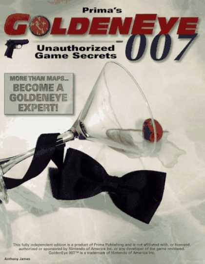 Books About Video Games - Prima's Goldeneye 007 Unauthorized Game Secrets