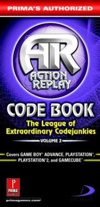 Books About Video Games - Action Replay Code Book Vol.2: Prima's Authorized (Action Replay Code Book: The