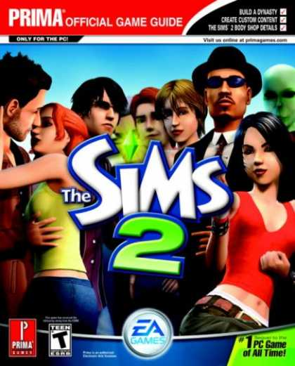 Books About Video Games - The Sims 2 Revised: Prima Official Game Guide (Prima Official Game Guides)