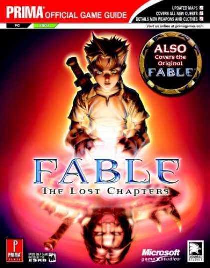 Books About Video Games - Fable: The Lost Chapters (Prima Official Game Guide)