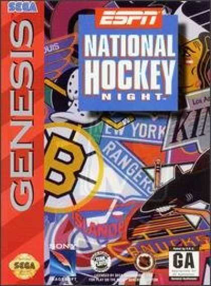 Books About Video Games - ESPN National Hockey Night - [SEGA VIDEO GAME]