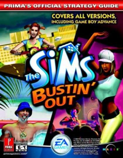 Books About Video Games - The Sims Bustin' Out (Prima's Official Strategy Guide)