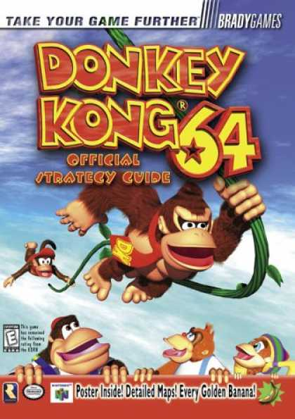 Books About Video Games - Donkey Kong 64 Official Strategy Guide (VIDEO GAME BOOKS)