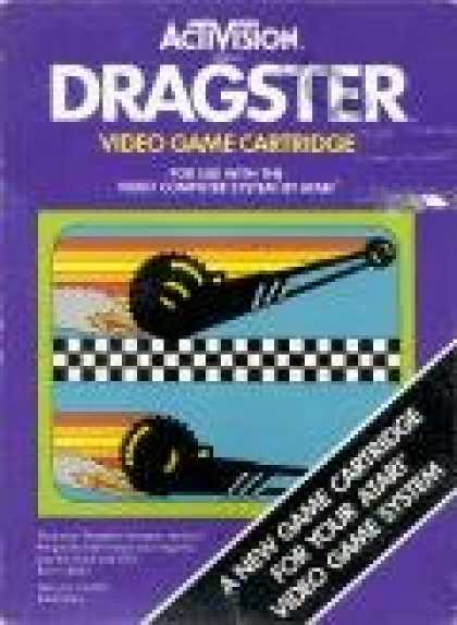 Books About Video Games - ATARI 2600 DRAGSTER VIDEO GAME (ATARI 2600 VIDEO GAME CARTRIDGE) (ATARI 2600 DRA