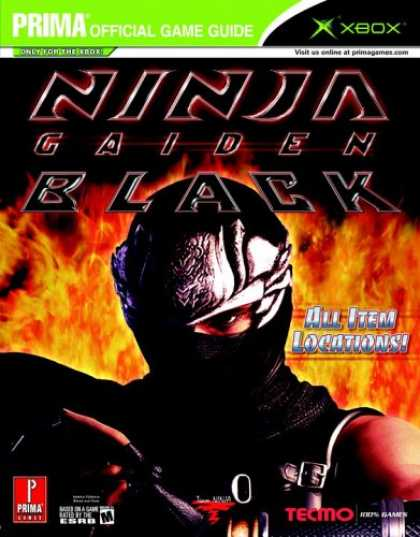 Books About Video Games - Ninja Gaiden Black (Prima Official Game Guide)