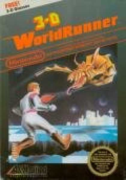 Books About Video Games - 3-D WORLDRUNNER VIDEO GAME (NINTENDO NES 8-BIT VIDEO GAME CARTRIDGE VERSION) (3-