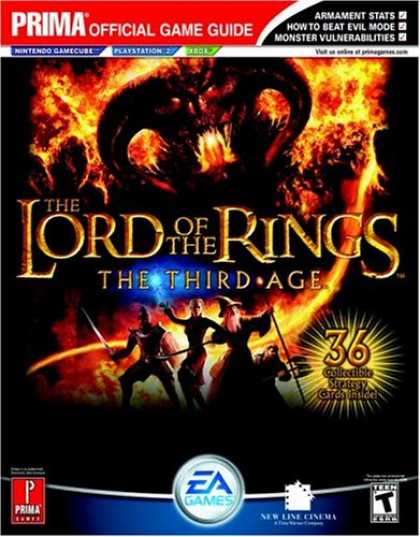 Books About Video Games - The Lord of the Rings: The Third Age (Prima Official Game Guide)