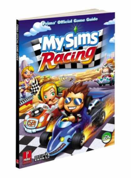 Books About Video Games - MySims Racing: Prima Official Game Guide