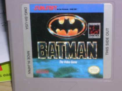Books About Video Games - Nintendo Batman the Video Game