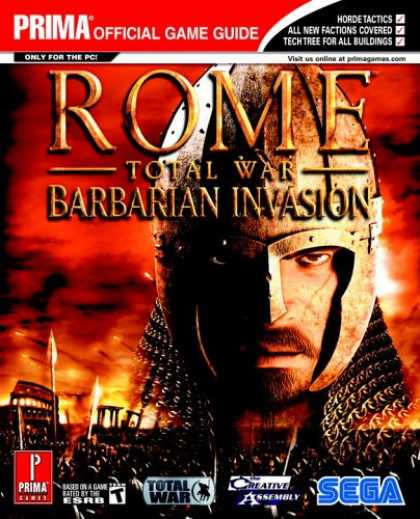 Books About Video Games - Rome: Total War - Barbarian Invasion (Prima Official Game Guide)