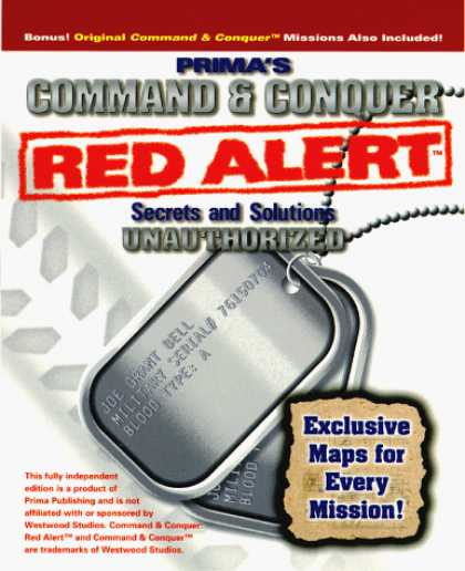 Books About Video Games - Command & Conquer: Red Alert Secrets & Solutions: The Unauthorized Edition (Secr