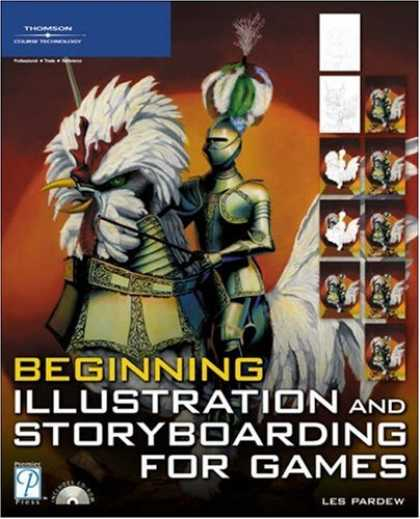 Books About Video Games - Beginning Illustration and Storyboarding for Games (Premier Press Game Developme