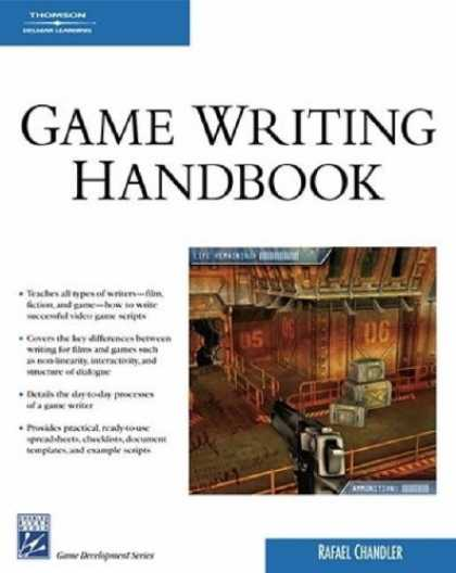 Books About Video Games - Game Writing Handbook (Charles River Media Game Development)