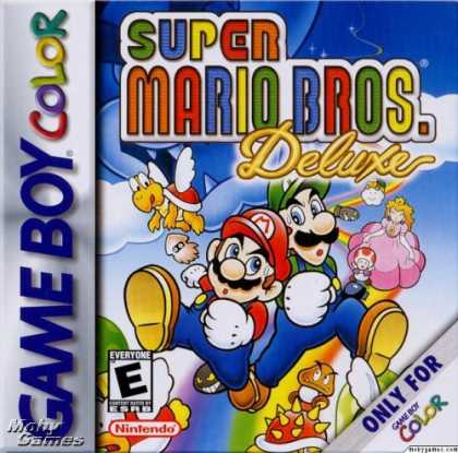 Books About Video Games - SUPER MARIO BROS. DELUXE (NINTENDO GAME BOY COLOR VERSION) (SUPER MARIO BROS. DE
