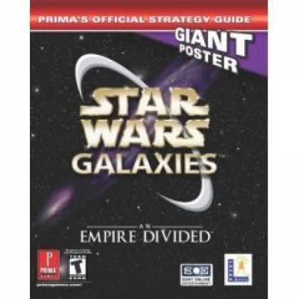 Books About Video Games - Star Wars Galaxies: An Empire Divided (Prima's Official Strategy Guide) (Video g