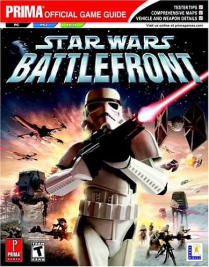Books About Video Games - Star Wars Battlefront: Prima Official Game Guide