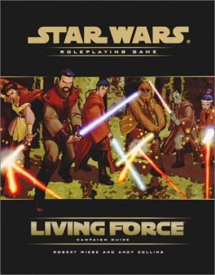 Books About Video Games - Living Force Campaign Guide (Star Wars Roleplaying Game)