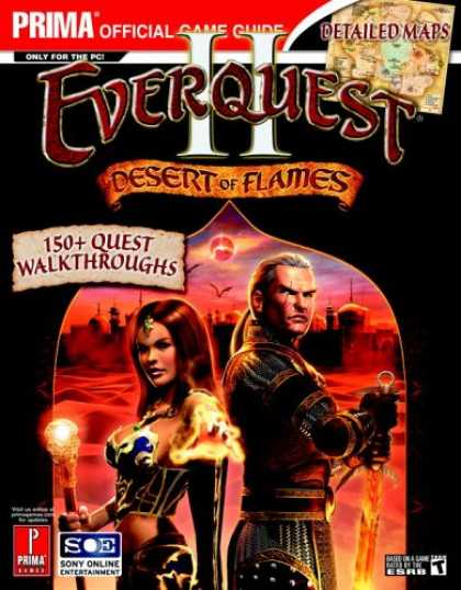 Books About Video Games - EverQuest II: Desert of Flame (Prima Official Game Guide)