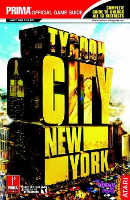 Books About Video Games - Tycoon City: New York (Prima Official Game Guide)
