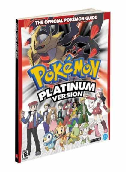 Books About Video Games - Pokémon Platinum: Prima Official Game Guide