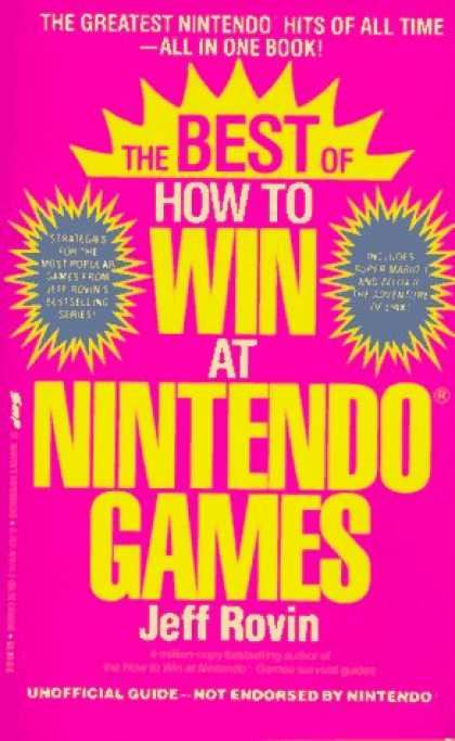 Books About Video Games - The Best of How to Win at Nintendo Games