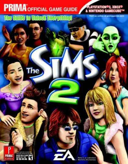Books About Video Games - The Sims 2 (Console) (Prima Official Game Guide)