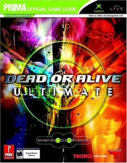 Books About Video Games - Dead or Alive Ultimate (Prima Official Game Guide)