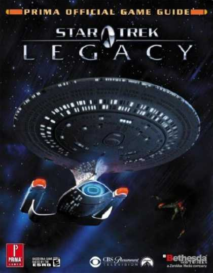 Books About Video Games - Star Trek Legacy (Prima Official Game Guide)