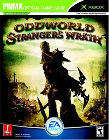 Books About Video Games - Oddworld: Stranger's Wrath (Prima Official Game Guide)
