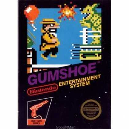 Books About Video Games - GUMSHOE VIDEO GAME (NINTENDO NES 8-BIT VIDEO GAME CARTRIDGE VERSION) (GUMSHOE VI