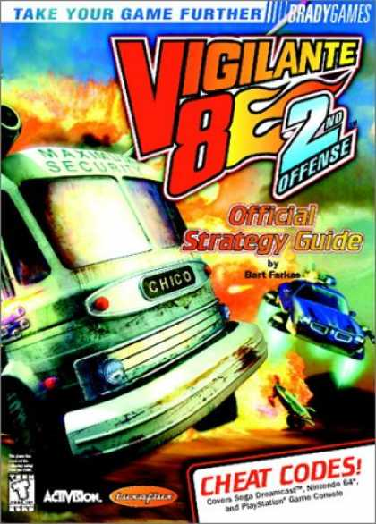 Books About Video Games - Vigilante 8: 2nd Offense Official Strategy Guide (VIDEO GAME BOOKS)