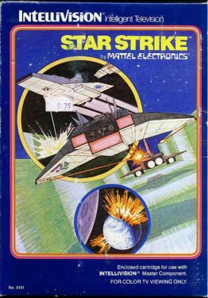 Books About Video Games - INTELLIVISION STAR STRIKE GAME COMPLETE SET (COMES WITH ORIGINAL BOX, INSTRUCTIO
