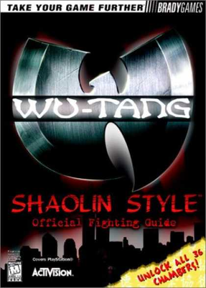 Books About Video Games - Wu-Tang: Shaolin Style Official Strategy Guide (VIDEO GAME BOOKS)