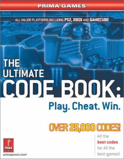 Books About Video Games - The Ultimate Code Book: Play. Cheat. Win. (Prima Games)