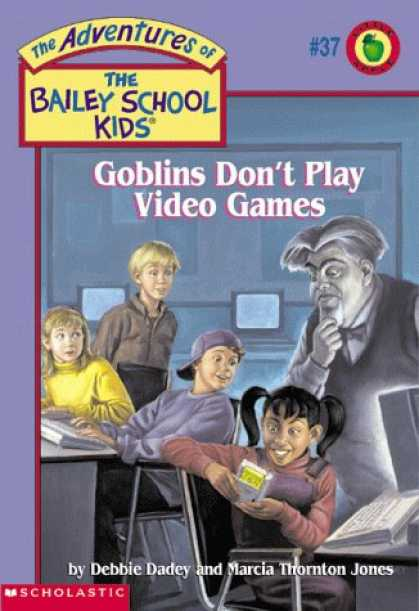 Books About Video Games - Goblins Don't Play Video Games (The Adventures of the Bailey School Kids, #37)