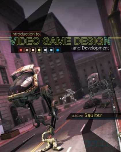 Books About Video Games - Introduction to Video Game Design and Development with Student CD