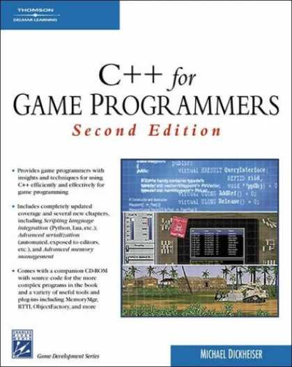 Books About Video Games - C++ For Game Programmers (Game Development Series)