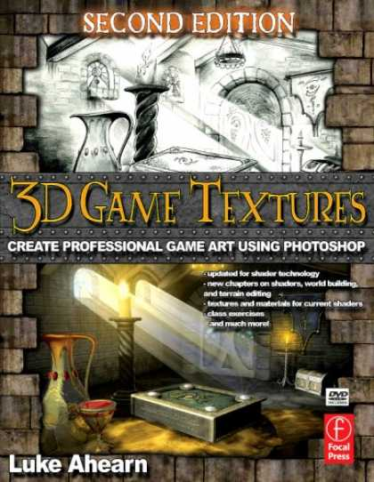 Books About Video Games - 3D Game Textures, Second Edition: Create Professional Game Art Using Photoshop