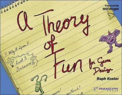 Books About Video Games - Theory of Fun for Game Design