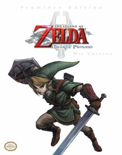 Books About Video Games - The Legend of Zelda - Twilight Princess (Wii Version) (Prima Authorized Game Gui