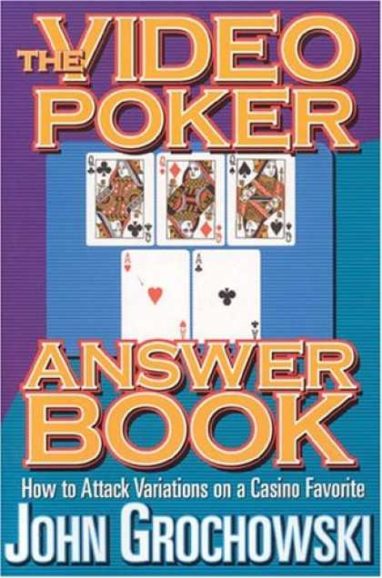 Books About Video Games - The Video Poker Answer Book